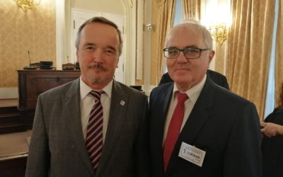 Na semináři v Poslanecké sněmovně PČR s panem poslancem Kobzou