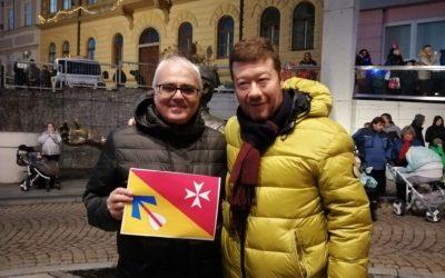 S předsedou SPD panem Okamurou a členy strakonické organizace