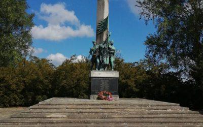5. května 1945 Mnich – Památník obětem 2. Světové války.